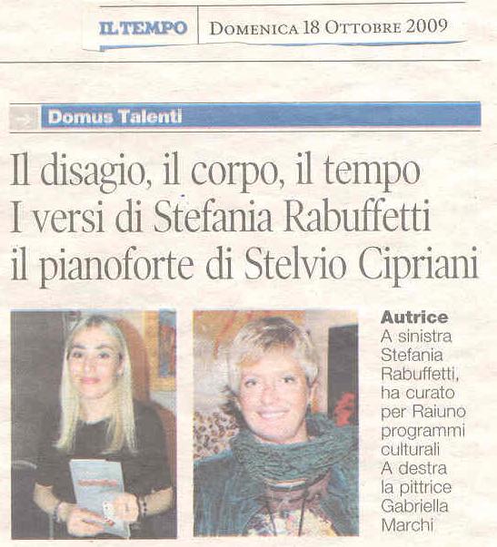 Il Tempo - Domenica 18 Ottobre 2009