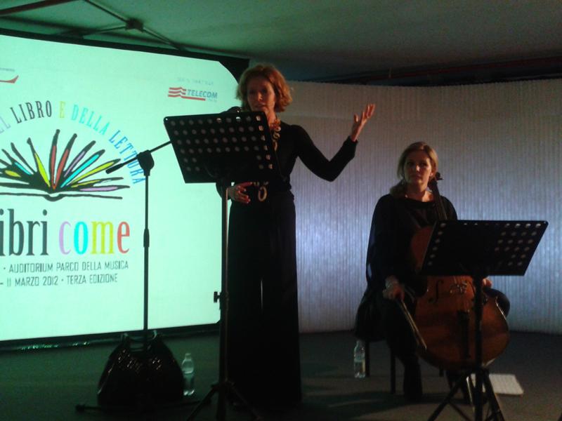 10/03/2012 - Roma, Auditorium. Festa del libro e della Lettura