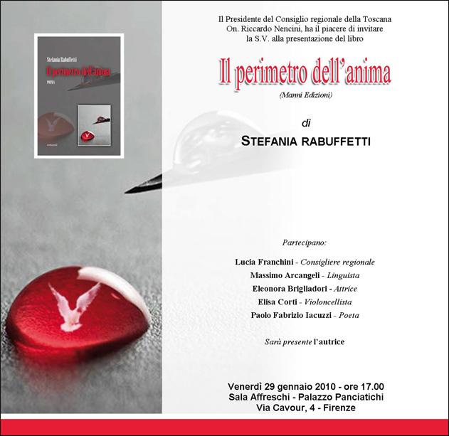 Il perimetro dell'anima, Firenze